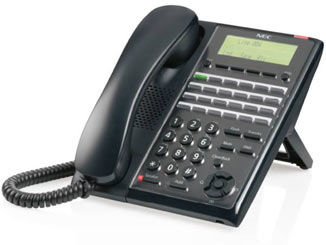 NEC SL2100 telephone for desk.