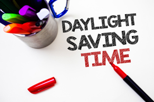 Daylight Savings time on your business phone.