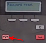 How to reset a password for a mailbox on a Norstar Nortel