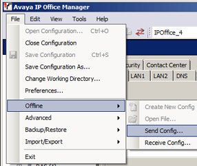 How to backup and restore an Avaya IP Office phone system